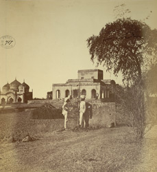 Mosque and associated buildings, Aurangabad.